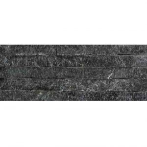 natural stone cladding - colour black quartz